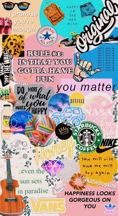 A cute vsco/aesthetic wallpaper Wallpaper Collage, Collage Mural, Wallpaper Free, Iphone Wallpaper Vsco, Trippy Wallpaper, Iphone 7 Wallpapers, Collage Background, Mood Wallpaper, Homescreen Wallpaper