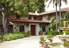 Spanish-style exterior