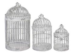 Birdcage Wedding Card Box Holder Set / Wishes / by SophieAtelier, $109.00