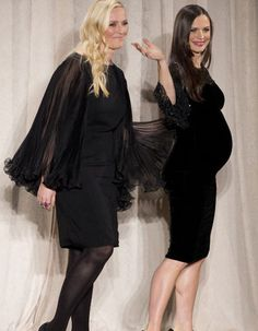MARCHESA 2013  Keren Craig and Georgina Chapman  Here's the kicker: Apparently Harvey and Georgina may have BOUGHT Keren out of her half of the business, leaving Georgina to take all of the credit for the brand moving forward.  http://thefabulouslyelitelife.wordpress.com/