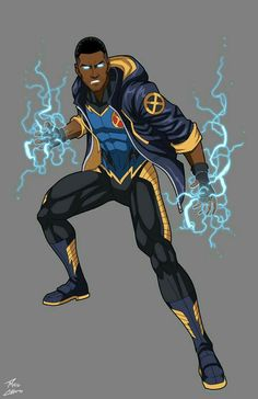 Volt ...  If Static Shock was a X-Men   ...