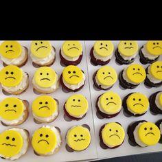 Going away cupcakes :(