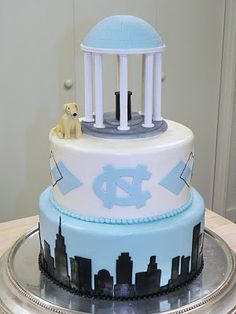 For the Tarheel fans in our family...wait, they're all Tarheel fans.