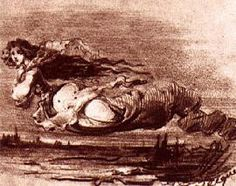 Dibujo de Gustavo Adolfo Becquer