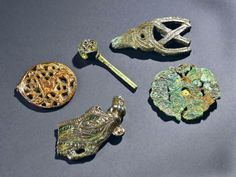 Artefacts pinhead found by treasure hunting metal detectorist in England