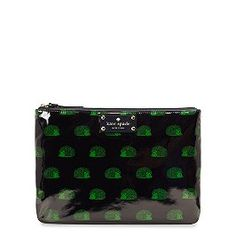 Hedgehog Cosmetic Case. Kate Spade. ($78)