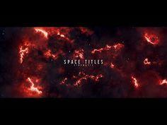 Cinematic Trailer, Sony, Vegas, Templates, Space, Floor Space, Stencils, Vorlage, Models