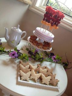 "Photo 1 of 16: Tea Party ""Enchanted Flowers & Fairies"" 