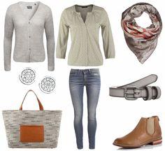 #Herbstoutfit Auffällige Handtasche ♥ #outfit #Damenoutfit #outfitdestages #dresslove