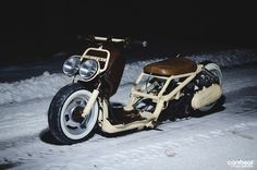 The Snow Ruck? Featured on Canibeat - congrats! http://www.scootermadness.com
