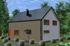 Проект каркасного дома TRUMP 155 кв.м. http://www.ekonia.ru  The project of frame house TRUMP 155m2 v3