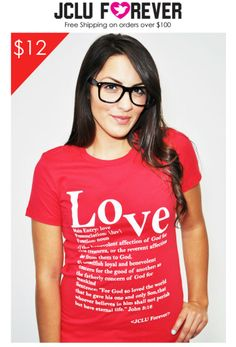 $12 FLASH SALE Love Defined Christina T-shirt and Apparel JCLU Forever