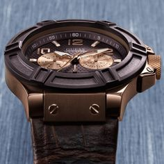 Guess watches, Rigor, etched top rings, male watches