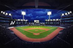 baseball stadium under roof view with fans, sport theme illustration Sport Theme, Sports Stadium, Special Promotion, Baseball Field, Royalty Free Photos, New Pictures, Fans, Illustration, Image