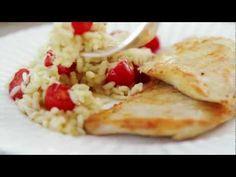 Knorr - Filé de frango grelhado com risoto de rúcula