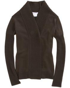GIVENCHY • Shawl collar cardigan
