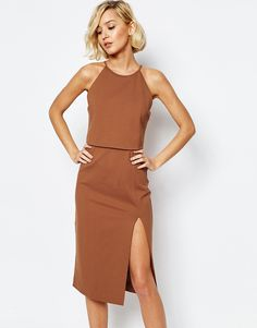 Just when I thought I didn't need something new from ASOS, I kinda do  Casual night out dress. Dress it up with a stella and dot statement necklace and a ankle wrap heel! Would also look great with some metallic arm tattoos.
