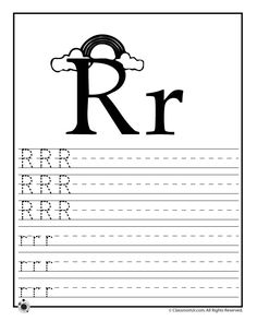 Learning ABC's Worksheets Learn Letter R – Classroom Jr.