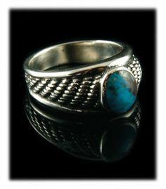 Renaissance Bisbee Turquoise Ring