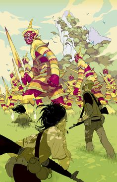 GhostWorriors_650.jpg by Tomer Hanuka, Illustrator