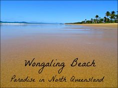 Wongaling Beach Paradise at Mission Beach North Queensland, Australia Great Places To Travel, Mission Beach, Queensland Australia, Budget Travel, Paradise, Water, Life, Outdoor, Gripe Water