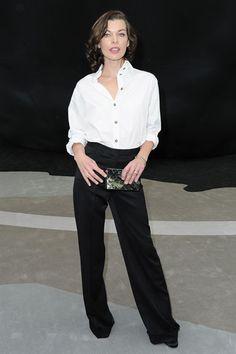 Mila Jovovich in Chanel