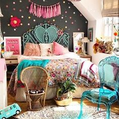 Teen Girl Bedrooms awesome and dreamy vibe - Super ingenious teen room suggestions. This wicked post reference inspired on 20191221 Teen Girl Bedrooms, Little Girl Rooms, Shabby Chic Bedrooms, Fashion Room, Bedroom Decor, Design Bedroom, Bedroom Ideas, My New Room, Kids Room