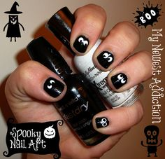 Manic(ure) Monday: Spooooky Nail Art
