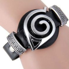 ... Konoha Cosplay Pendant Bracelet - Japanese Anime Costume Accessories