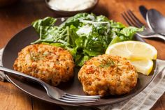 Meat Crab Cake Imitation Crab Meat Crab Cake- I'm gonna sub out the ingredients for clean ones and make this tonite!Imitation Crab Meat Crab Cake- I'm gonna sub out the ingredients for clean ones and make this tonite! Crab Cake Recipes, Fish Recipes, Seafood Recipes, Lobster Recipes, Canned Crab Recipes, Pizza Recipes, Beef Recipes, Quick Recipes, Cooking Recipes