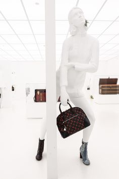 High fashion meets high tech in the Louis Vuitton Series 2 Exhibition Accessories Gallery #LVSeries2