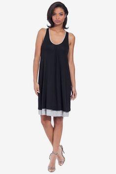 Reversible Jersey Dress