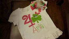 Shamrock Birthday Shirt FREE SHIPPING by SouthernBlingBowtiqu, $23.00