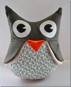 DIY Owl Softie: Free Pattern and Tutorial