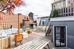 Roof terrace Amsterdam City (Nieuwezijds Voorburgwal 169)