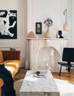 Living Room Inspiration, Interior Design Inspiration, Home Design, Home Interior Design, French Interior, Interior Ideas, Style At Home, Design Scandinavian, Living Room Decor
