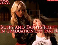 Buffy and Faith's fight in Graduation Day, Part 1, Buffy The Vampire Slayer
