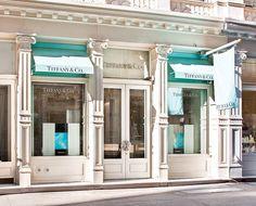 Tiffany storefront in SOHO