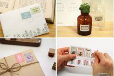 Dailylike nos ofrece una amplia gama de sellos adhesivos de alta calidad. Ideales para tus álbumes, scrapbooks, etiquetas, snail mails…