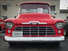 1956 chevy pickup | 1956 Chevrolet 3100 Pickup Truck Front View | Flickr - Photo Sharing!