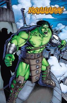 World War Hulk by Javier Saltares...
