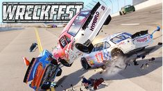 Playing Wreckfest with NASCAR Mod. Racing and crashing on Talladega, Michigan Speedway, Pocono and some demo derby arenas, Hot Wheels track, figure 8 and mor. Sound Of Thunder, Nascar, Hot Wheels, Derby, Michigan, Monster Trucks, Channel, Track, Walls