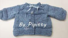 A receita deste casaquinho está publicada neste blog em em http://bypipitty.blogspot.com.br/2014/10/casaquinho-de-bebe-manga-ragla-com.html ...