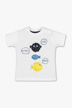 Short sleeve baby T-shirt - organic cotton Baby Club, Newborn Outfits, Suits You, Mother Earth, Sustainable Fashion, Babys, Baby Gifts, Organic Cotton, Short Sleeves