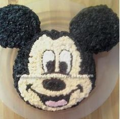Mickey Mouse Cake mickey-mouse-1st-birthday