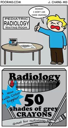 Radiology humor, xray, 50 shades