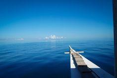 1 hour pump boat ride to Kalanggaman Island.