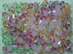 12 Swarovski Crystal 4mm Bicone Beads Pastels (Kristin): http://www.outbid.com/auctions/15131-bargain-supplies-5-15#16
