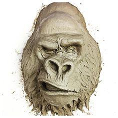 Hoje a partir das 14:30hs continuaremos a transmissão ao vivo da escultura do Gorila pela nossa página no Facebook! Chame os amigos e vamos sujar as mãos de barro juntos!