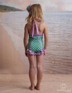 Rebel Belle Swimsuit in Mermaid: 2018 Collection Size 2 12 Little Girl Models, Cute Little Girls, Child Models, Little Girl Swimsuits, Cute Swimsuits, Young Girl Fashion, Little Girl Fashion, Rebel, Mermaid Swimsuit